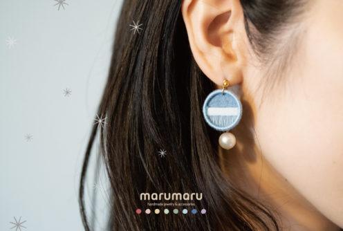marumaru - handmade jewelry & accessories - <冬のアクセサリー展>